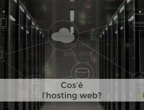 Cos'è l'hosting web?