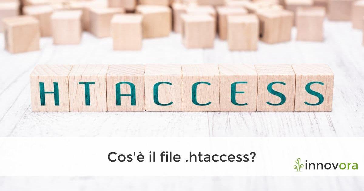 Cos'è il file .htaccess?