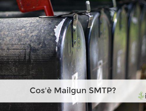 Cos'è Mailgun SMTP?