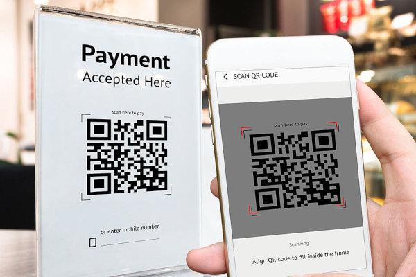 Pagamento con codice QR